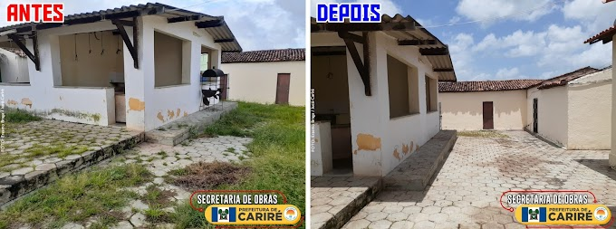Realizada limpeza completa no mercado central de Jucá-Cariré