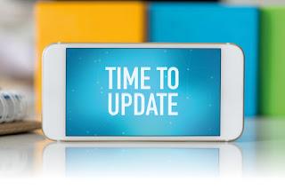 pembaharuan sistem smartphone / catatan adi