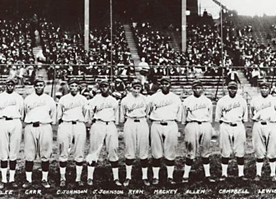 The Hilldale Daisies and the Kansas City Monarchs in 1924