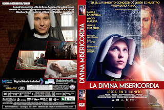 CARATULA LA DIVINA MISERICORDIA - MILOSC I MILOSIERDZIE - LOVE AND MERCY FAUSTINA 2019[COVER DVD]