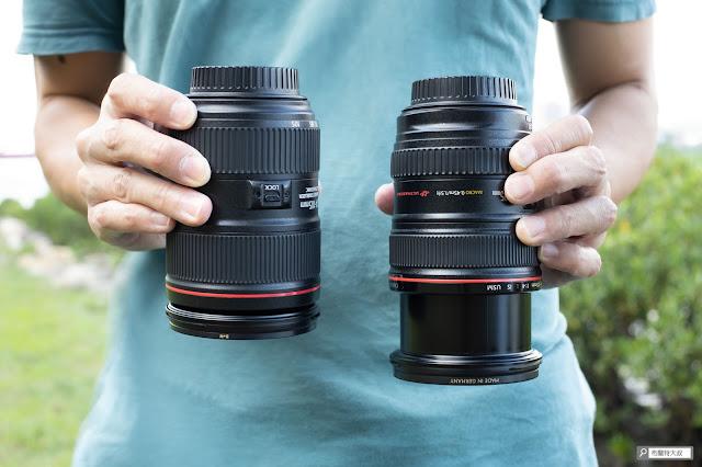 Canon EF 24-105mm f/4L IS USM 鏡頭變焦阻尼不足,在長久使用後所造成的垂頭現象