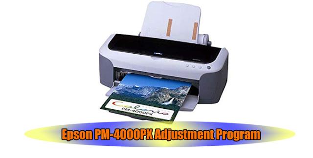 Epson PM-4000PX Printer Adjustment Program