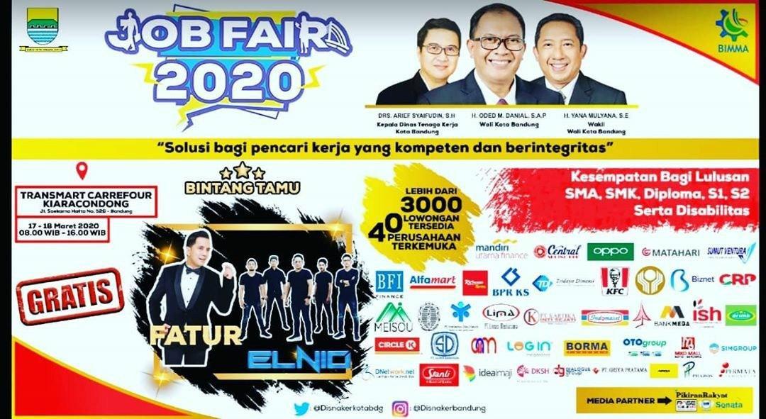 Job Fair Transmart Carrefour Kiaracondong 17-18 Maret 2020