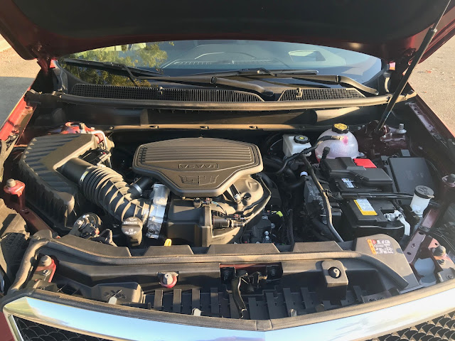 Engine in 2020 Cadillac XT5 Sport AWD
