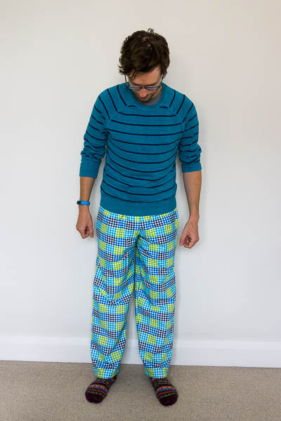 Simplicity 1605 pyjama bottoms