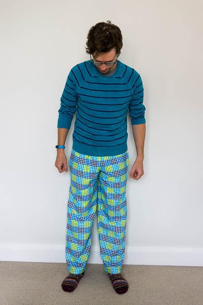 Simplicity 1605 pyjama bottoms