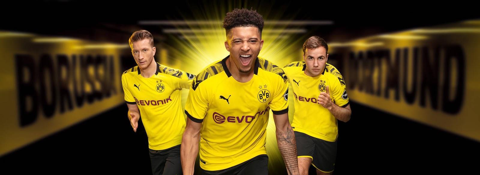 Borussia Dortmund 19 20 Home Kit Released Footy Headlines