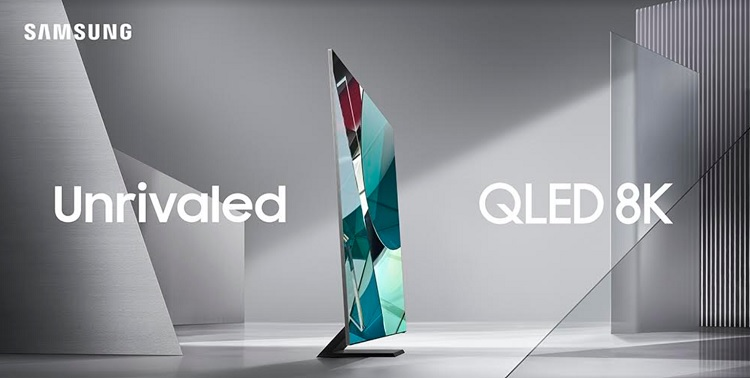 Samsung Launches 2020 QLED 8K TV