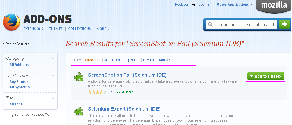 Software testing tutorials and automation: Selenium IDE