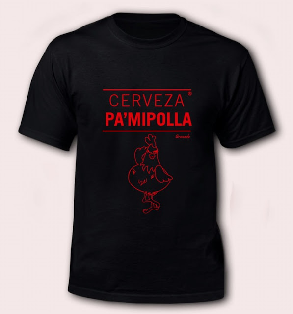camiseta cerveza pamipolla