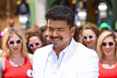 Theri Vijay Cute Smile Pics