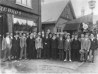Patmore Bros shop in the 1920's