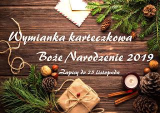Wymianka karteczkowa Boże Narodzenie 2019