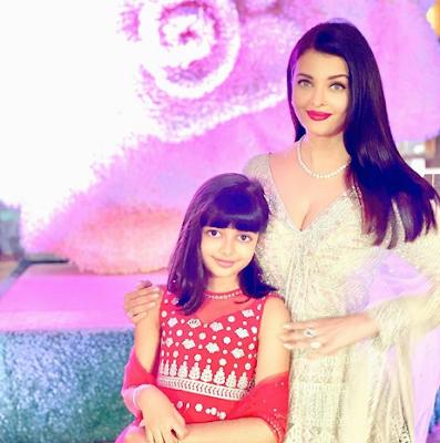 Aishwarya Rai and her Daughter