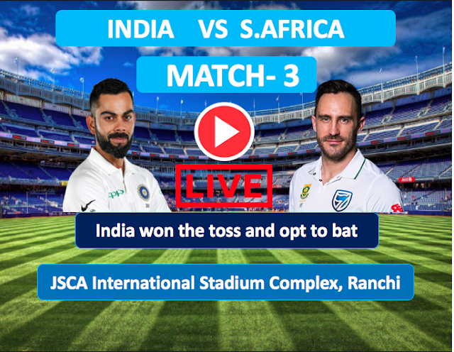 Live Streaming, IND vs RSA, 3rd Test, South Africa tour of India, 2019
