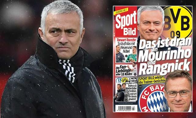 """Bị MU - Real Madrid """"xử phũ"""", HLV Mourinho học tiếng Đức để đến bến đỗ khó ngờ 2"""