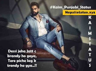 Kaim Punjabi Status : Kaim Punjabi Attitude Status For Facebook in Punjabi