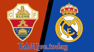 نتيجة مباراة ريال مدريد والتشي اليوم في الدوري الاسباني - Tab3live
