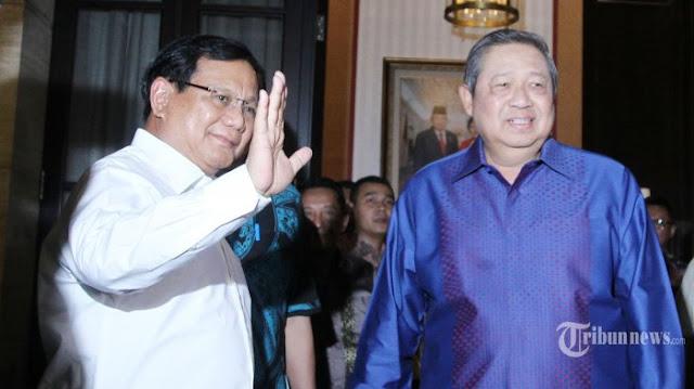 Jadi Jurkam, Pengamat: Bukti SBY Ada Dalam Barisan Prabowo-Sandi