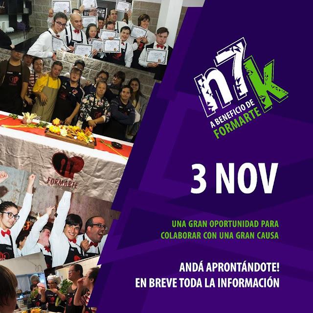 N7k carrera a beneficio de Formarte (Parque Roosevelt - Canelones - Uruguay, 03/nov/2019)