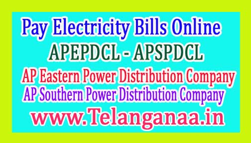 Pay AP Electricity Bill Online APEPDCL APSPDCL Electricity Bill Payment Online