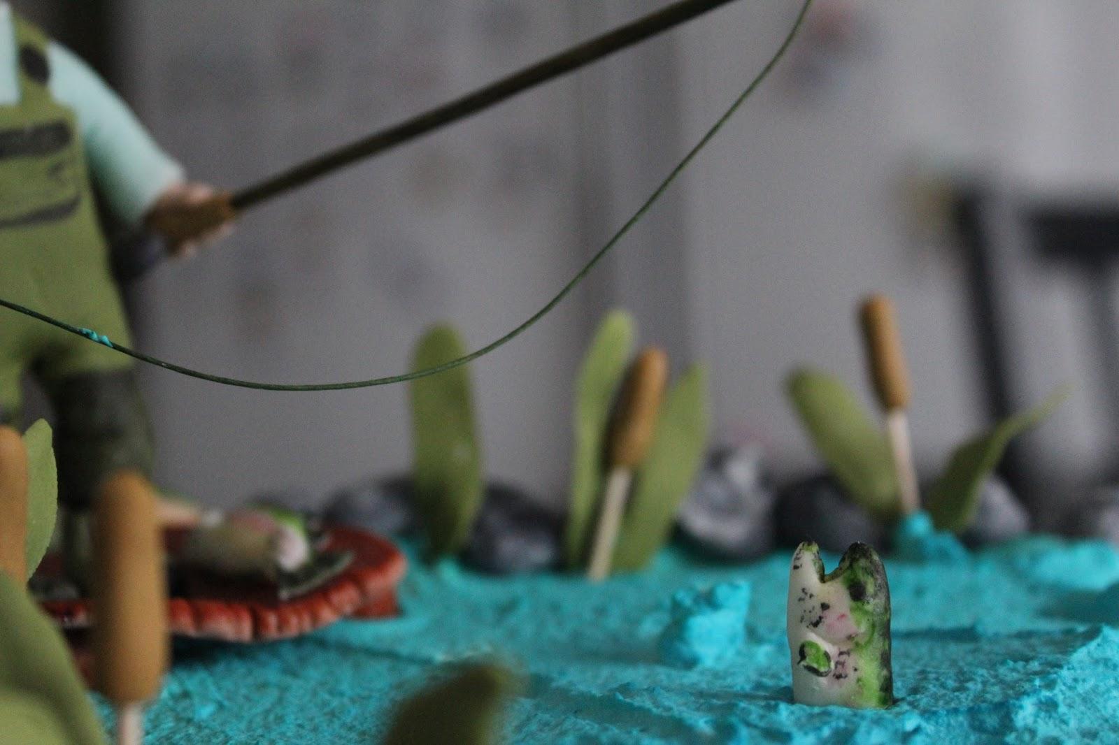 Hobbyholken  fiske tårta 0dbfc3d68216d