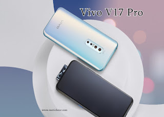 Vivo V17 Pro, 48MP quadcore camera , 4100 mAh battery , Glacier Ice,