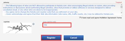 Cara Daftar dan Memasang Code Histats di Blog 4