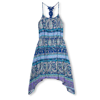 I Love The Colors And They Style Of This Sleeveless Paisley Print Dress We Can Go With Blue Theme To Pick Out Coordinating Clothes For Boys