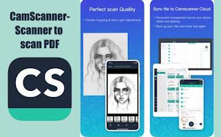 aplikasi scan CamScanner – Scanner to Scan PDF