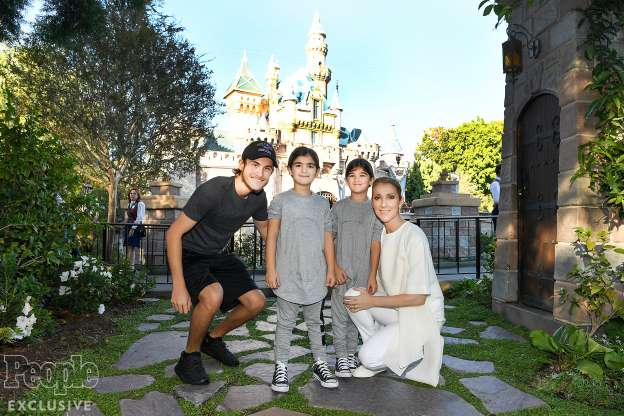 Céline Dion Reveals She Sleeps with Her Six-Year-Old Twins Every Night After Husband's Death