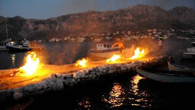 Φωτιές Αη-Γιαννιού Τέλενδος ή Τέλεντος, νησί νότιου Αιγαίου στα Δωδεκάνησα