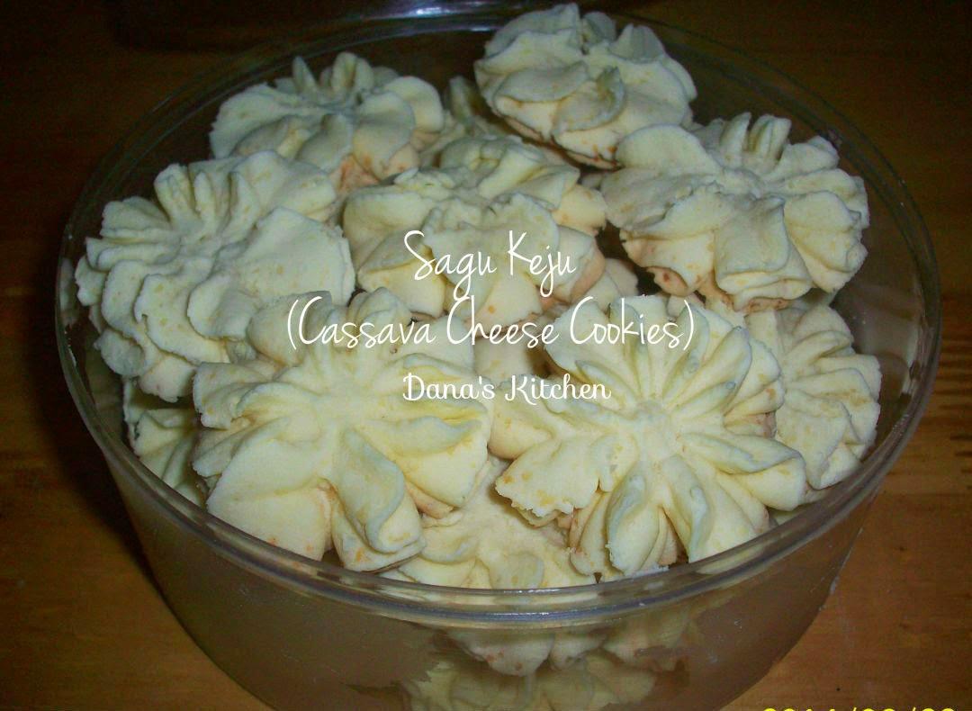 Dana S Kitchen Sagu Keju Indonesian Cassava Cheese Cookies