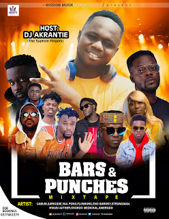 Mixtape: Dj Akrantie - Bars & Punches Mixtape