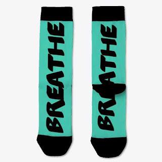 Breathe Socks Turquoise