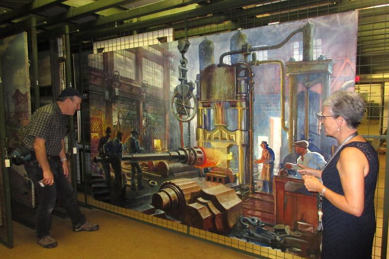 Gurney Journey: Painting Newport's Shipyards