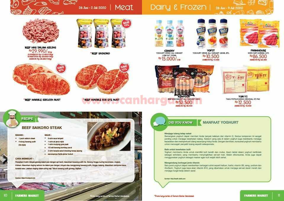 Katalog Promo Farmers Market Terbaru 26 Juni - 9 Juli 2020 6