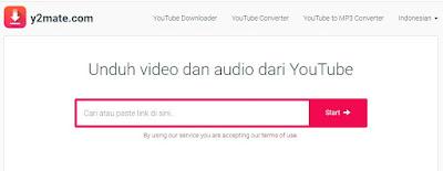 download video youtube dengan y2mate