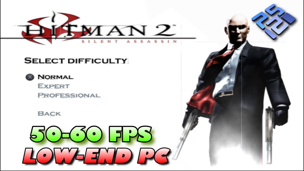 Best Settings for Hitman 2 Silent Assassin PCSX2 (PS2) Low-End PC