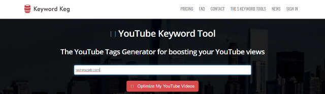 YouTube Keyword Tool – Keyword Keg