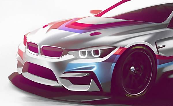 2018 BMW M4 GT4 Sport Race Car