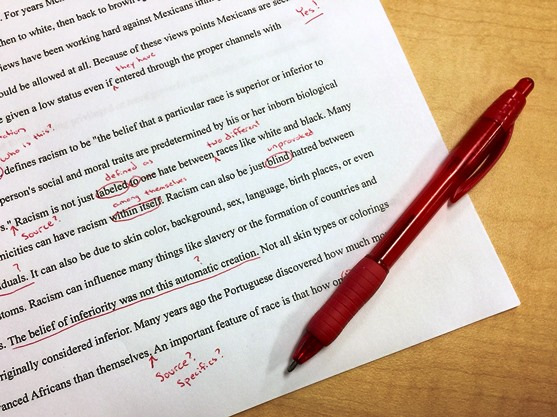 embrace an editor's skills when you're in the writing process