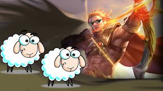 Apa itu domba aov ? Arti domba antaris di game  AOV (Arena Of Valor)