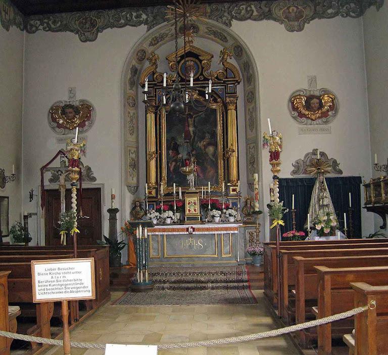 Fuggerei também tem sua artística capela.