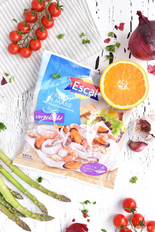 Vorgekochte Meeresfrüchte von Escal