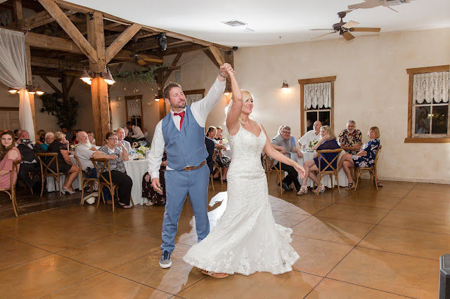 Shenandoah Mill Wedding Photography of The bride and groom's first dance