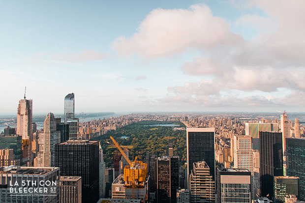 miradores de Nueva York top of the rock
