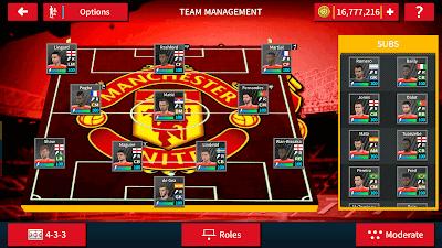 إضافة فريق مانشستر يونايتد للعبة دريم ليج سوكر