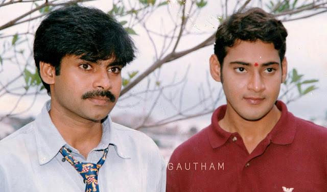 Mahesh Babu Rare Pics in Yuvaraju Movie Launch