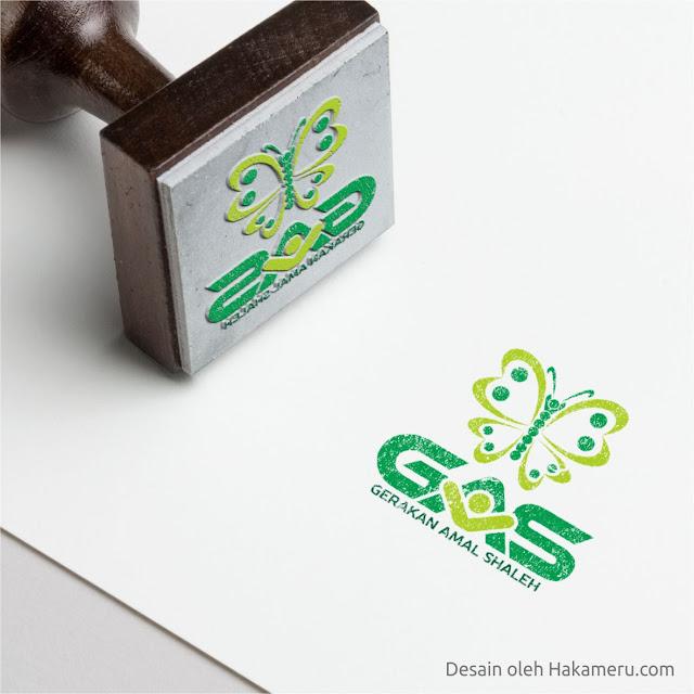 Desain Logo Untuk Gerakan Amal Saleh - Jasa Desain Grafis Online HAKAMERU